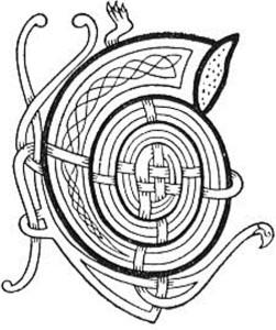 Ceann-Litreach a dhealbhaich bean MhicGilleMhìcheil, Mary Frances, a dhol cuide ris an t-seun  'Eòlas an t-Sniamh' ann an Carmina Gadelica, iom.l. 2, d. 20.