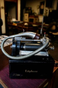 Ediphone used by the Irish Folklore Commission (1935-1971) in its Dublin headquarters. Photograph courtesy of National Folklore Collection.