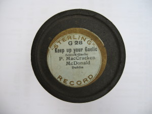 Sterling cylinder lid (early 20th century)
